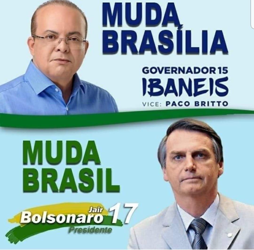 OPINIÃO: O Eleitor brasiliense escolheu Ibaneis Governador do DF e ...